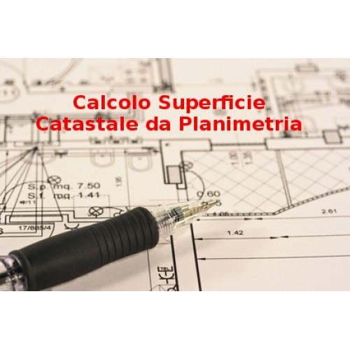 Calcolo della superficie da Planimetria