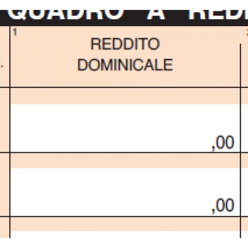 Reddito Dominicale e Reddito Agrario